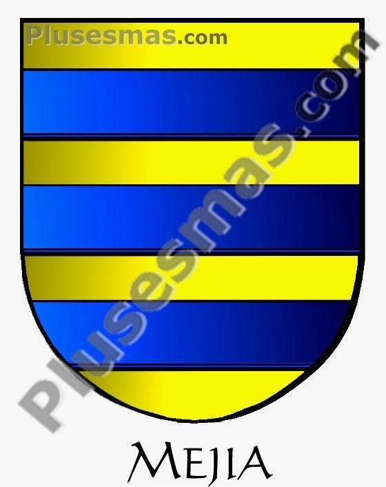 Escudo del apellido Mejía