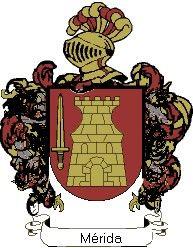 Escudo del apellido Mérida