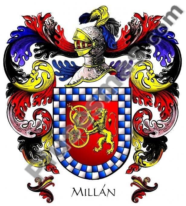 Escudo del apellido Millán