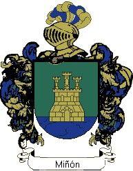 Escudo del apellido Miñón