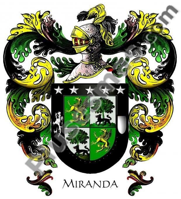 Escudo del apellido Miranda