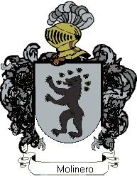Escudo del apellido Molinero