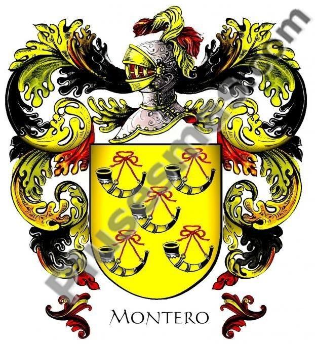 Escudo del apellido Montero