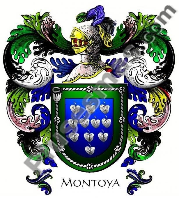 Escudo del apellido Montoya