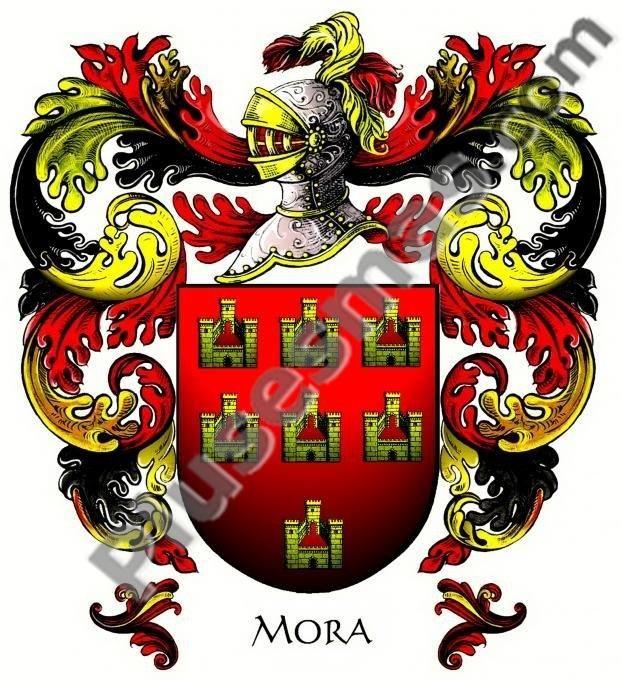 Escudo del apellido Mora