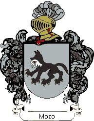 Escudo del apellido Mozo