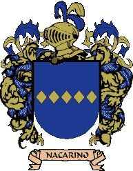 Escudo del apellido Nacarino