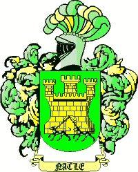 Escudo del apellido Nacle