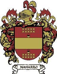 Escudo del apellido Naharro
