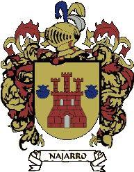 Escudo del apellido Najarro