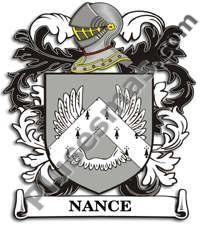 Escudo del apellido Nance