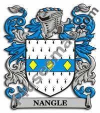 Escudo del apellido Nangle