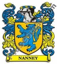 Escudo del apellido Nanney