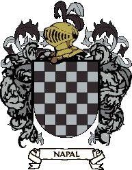 Escudo del apellido Napal