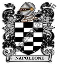 Escudo del apellido Napoleone