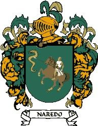 Escudo del apellido Naredo