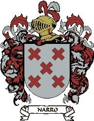 Escudo del apellido Narro