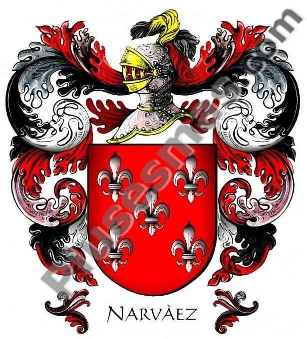 Escudo del apellido Narváez