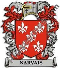 Escudo del apellido Narvais