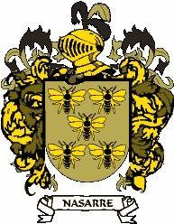 Escudo del apellido Nasarre