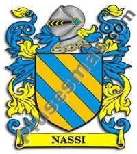 Escudo del apellido Nassi