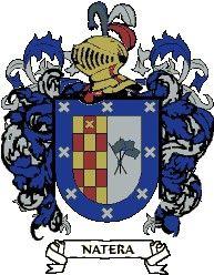 Escudo del apellido Natera
