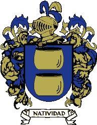 Escudo del apellido Natividad