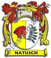 Escudo del apellido Natusch