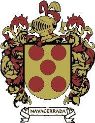 Escudo del apellido Navacerrada