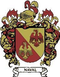 Escudo del apellido Naval