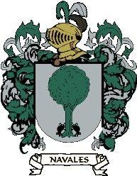 Escudo del apellido Navales