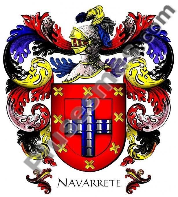 Escudo del apellido Navarrete