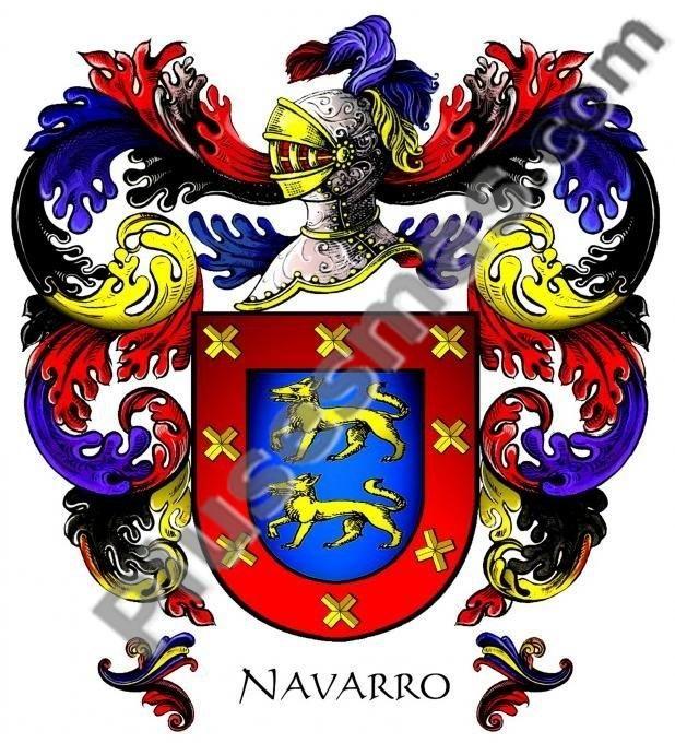 Escudo del apellido Navarro