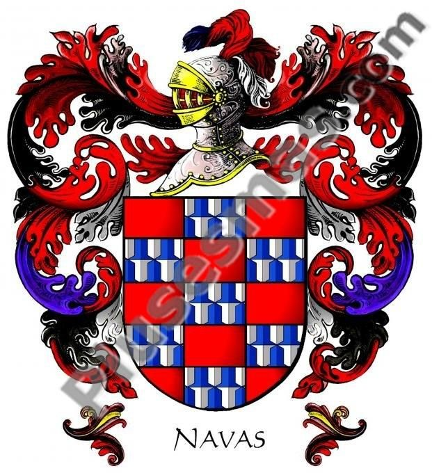Escudo del apellido Navas