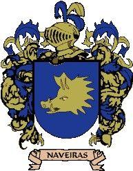 Escudo del apellido Naveiras