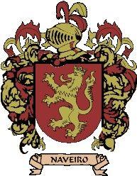 Escudo del apellido Naveiro