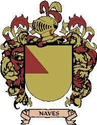 Escudo del apellido Naves