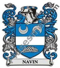 Escudo del apellido Navin