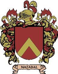 Escudo del apellido Nazábal