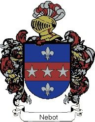 Escudo del apellido Nebot