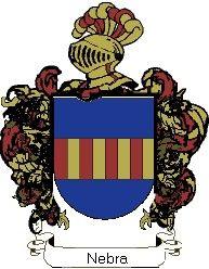 Escudo del apellido Nebra