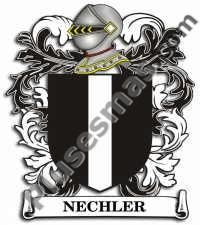 Escudo del apellido Nechler