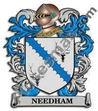 Escudo del apellido Needham