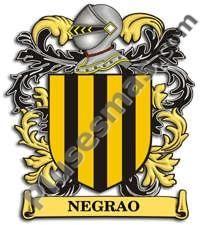 Escudo del apellido Negrao