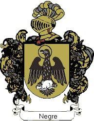 Escudo del apellido Negre