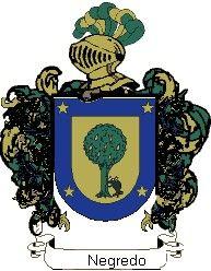 Escudo del apellido Negredo