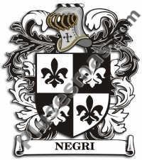 Escudo del apellido Negri