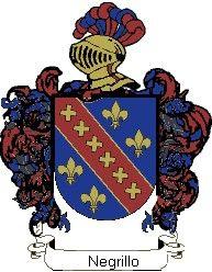 Escudo del apellido Negrillo