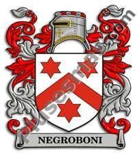 Escudo del apellido Negroboni