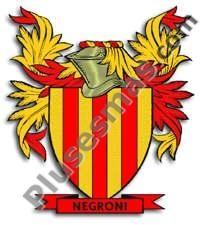 Escudo del apellido Negroni